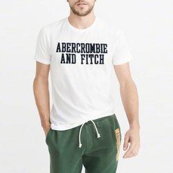 아베크롬비 반팔 티셔츠 2306 100 화이트 남녀공용