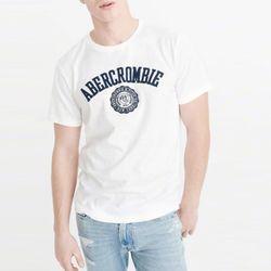 아베크롬비 반팔 티셔츠 2293 100 화이트 남녀공용