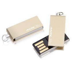 맥스 USB메모리 32GB 미니골드 M200 스윙형
