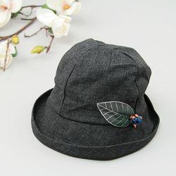 [더로라] 패션모자- 천연 나뭇잎 열매 H818