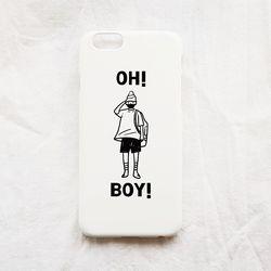 illust phonecase - OH BOY