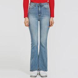 flow boots-cut denim pants (s m)
