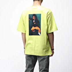 [매트블랙] 띠크 빅 반팔 티셔츠
