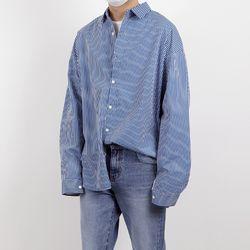 Hyoji overfit stylish stripe shirts