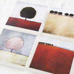 로날드 레이 로저스 그림액자 시리즈 4종