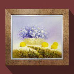 워너비아트 은혜의열매꽃그림 부자되는그림 유화그림