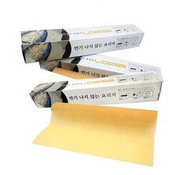 연기가 나지않는 원적외선 황토요리지 롤(종이호일)