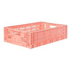 폴딩박스 L salmon_Passive Lock 15.6cm