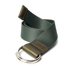 103 Webbing Belt Khaki