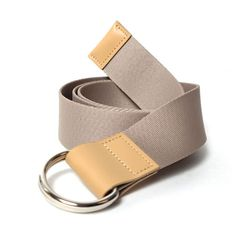 103 Webbing Belt Beige