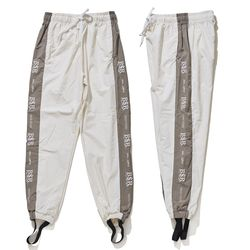BSRABBIT BSR JOGGER PANTS WHITE