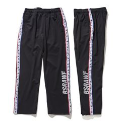 BSRABBIT GR KOREA TRACK PANTS BLACK