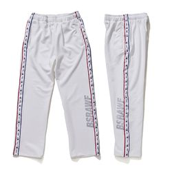 BSRABBIT GR KOREA TRACK PANTS WHITE