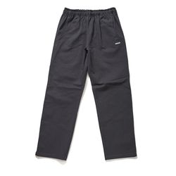BSRABBIT BSR COTTON BASIC TRACK PANTS CHARCOAL