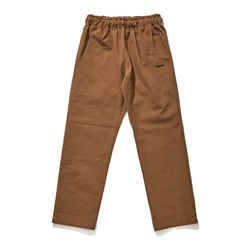 BSRABBIT BSR COTTON BASIC TRACK PANTS BROWN