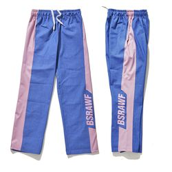 BSRABBIT BSRAWF TRACK PANTS DENIM