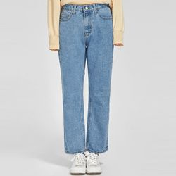 grove wide denim pants (s m)