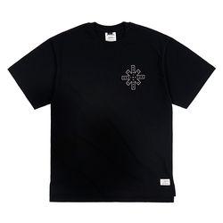 DESTROYER OVERSIZED T-SHIRTS BLACK