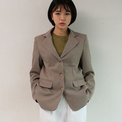 buckingham mannish check jacket (2color)