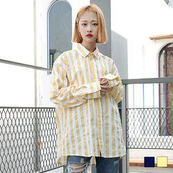 2093 비비드 스트라이프 셔츠 (2colors)