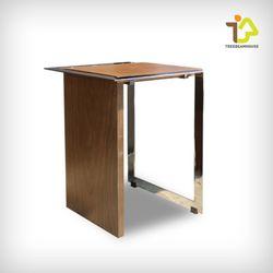 마빈 원목 사이드 테이블