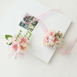 블라썸 벚꽃부토니에 [2color]