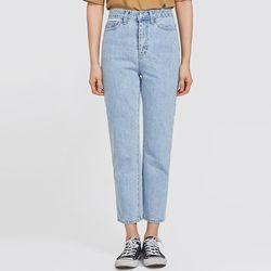 light port stright denim pants (s m)