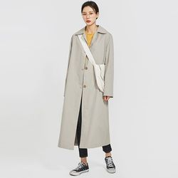 look neat single trench coat