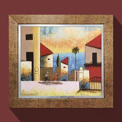 워너비아트 지중해여행화가그림 그림선물 유화그림