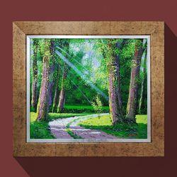 워너비아트 건강과기운의숲안방그림추천 그림 선물