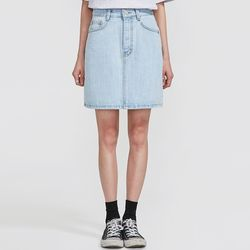 matter vintage denim skirt (s m)