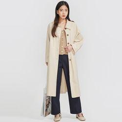 blossom raglan trench coat