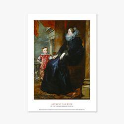 A Genoese Noblewoman - 안소니 반 다이크 019