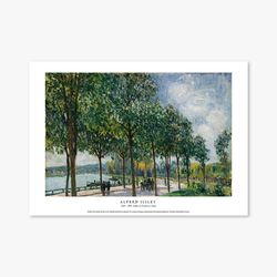 Allée of Chestnut Trees - 알프레드 시슬레 011
