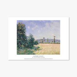 Sahurs Meadows in Morning - 알프레드 시슬레 012