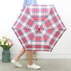 Classic check 선염 미니 우산