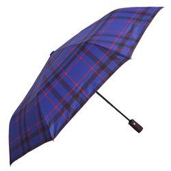 Classic check 선염 3단 안전 완자동 우산