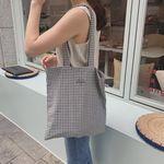 Mini check bag ( handmade )