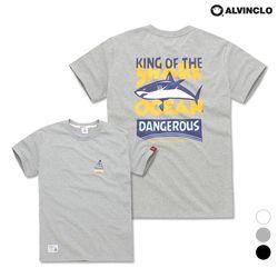 [앨빈클로] AST-3261g Shark Ocean 반팔 티셔츠