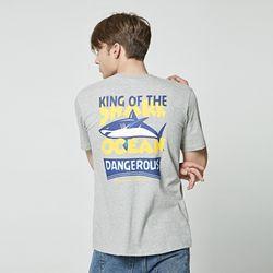 [앨빈클로] AST-3261 Shark Ocean 반팔 티셔츠