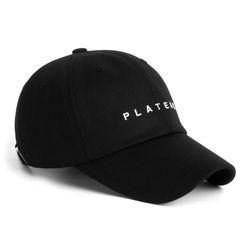 UNDER LOGO W CAP BLACK