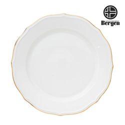 베르겐 골드 블랑 접시 중 1p