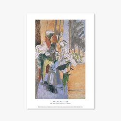 Bouquet of Flowers on a Veranda - 앙리 마티스 003