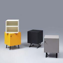 [썸네일 수정 필요] 다담 큐브 스틸 다용도 공간박스 액세서리