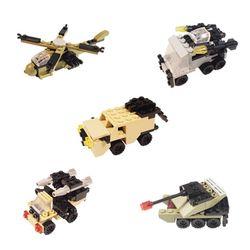 5000 미니블록 장난감 피규어 (군부대 5종)