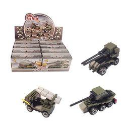 3000 미니블록 장난감 피규어 (군부대2 8종) 세트