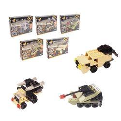 5000 미니블록 장난감 피규어 (군부대 5종) 세트