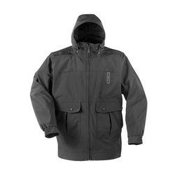 [프로퍼] 감마 롱 레인 듀티 드롭 테일 자켓 (블랙)
