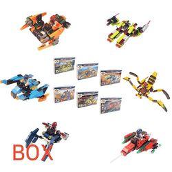 7000 미니블록 장난감 (우주전쟁 6종) 박스 72개입