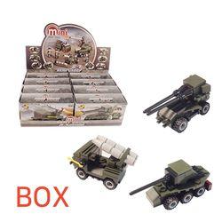 3000 미니블록 장난감 (군부대2 8종) 박스 240개입